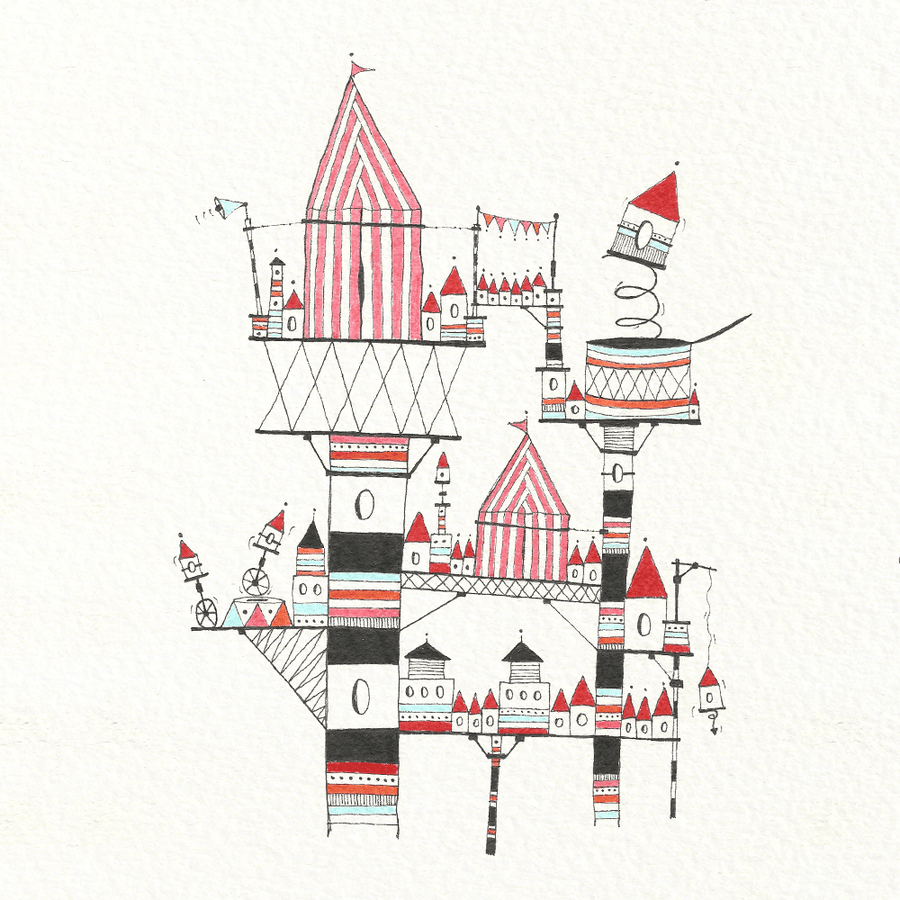 Image of Casitas with Circus II