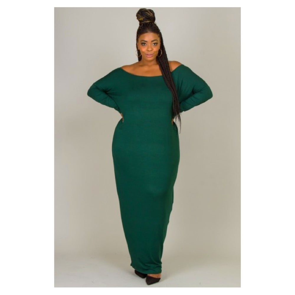 Image of Dani Curvy Maxi Dress