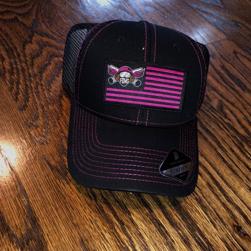 Image of Proud WIFE Pink & Black FDVG Hat