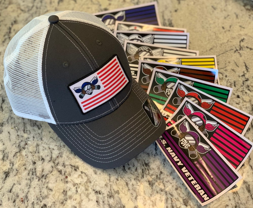 Image of The American GREY FDVG Hat