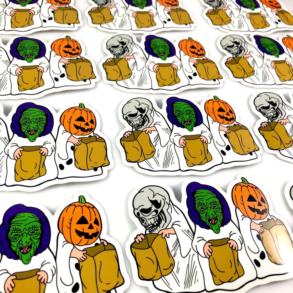 Image of Season of the Great Pumpkin (Die cut sticker)