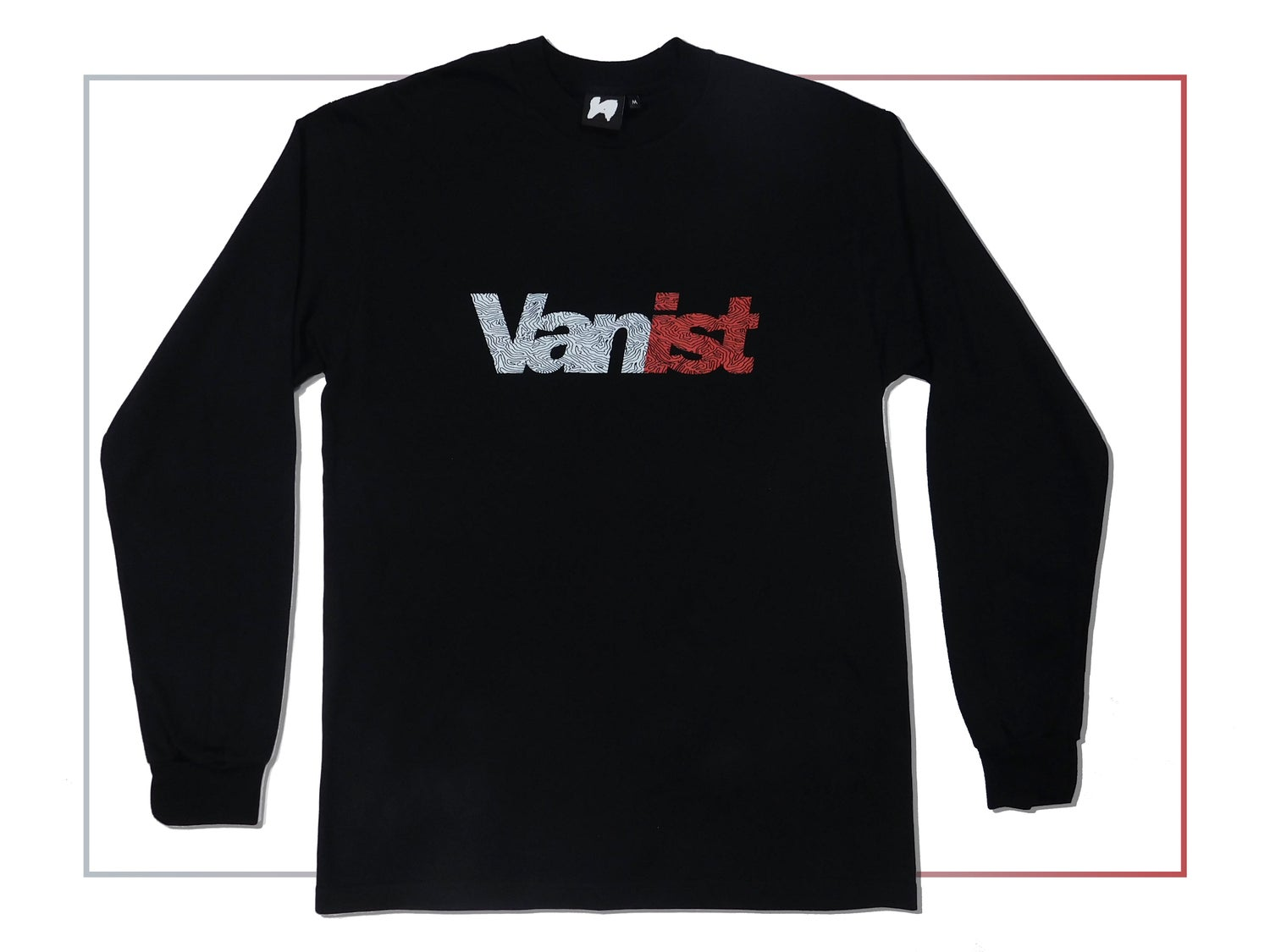 Image of Black Fingerprint Longsleeve
