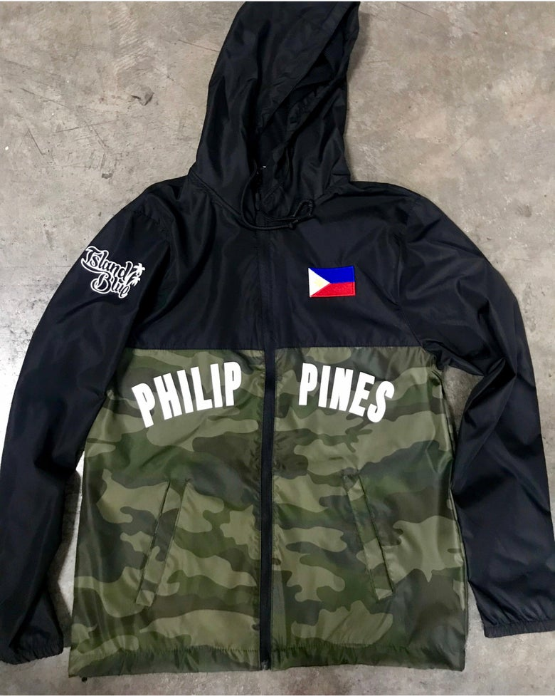 Image of Island Blue Philippine Windbreaker