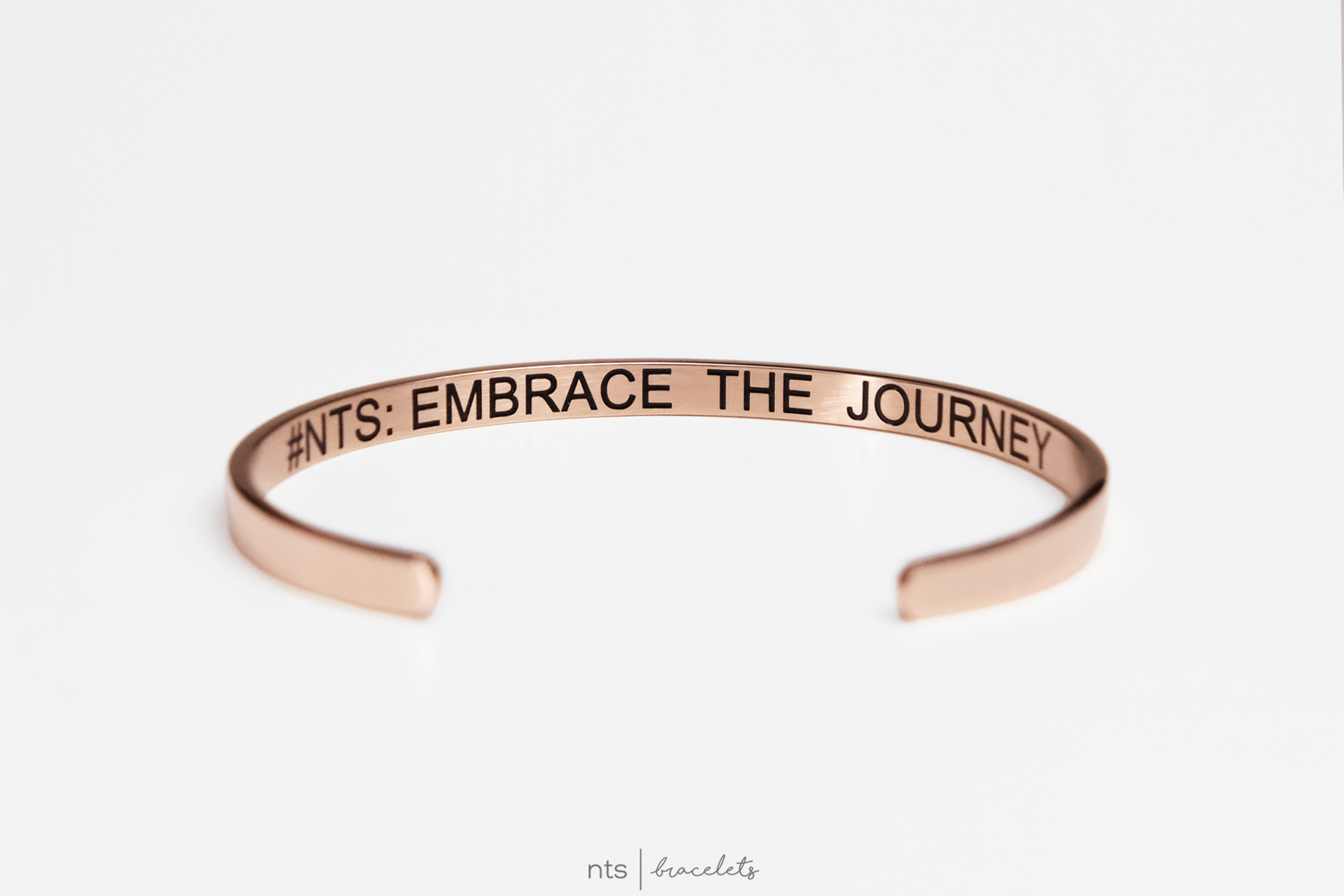 Image of #NTS: EMBRACE THE JOURNEY (LIMITED EDITION + Rose Gold)