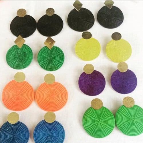 Image of Sisal earrings