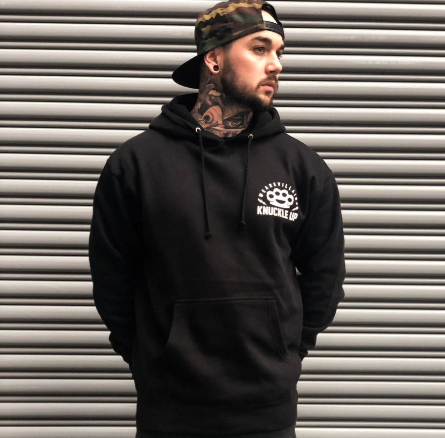 Image of Knuckle Up pullover hoodie