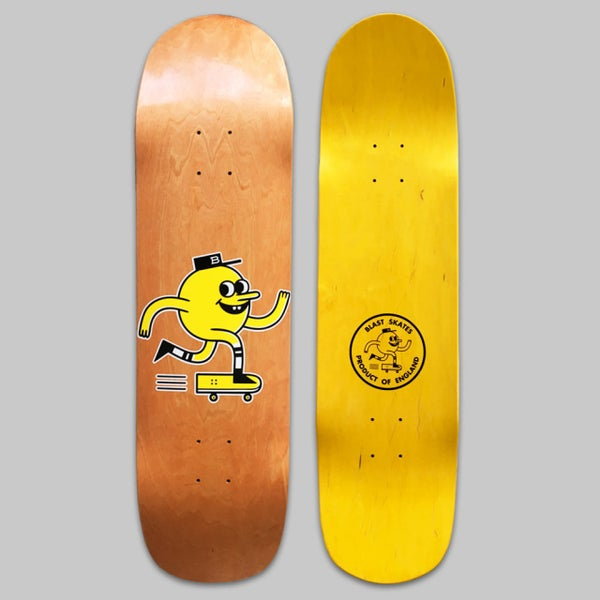 "Image of 8.3"" SHAPED LOGO DECK"