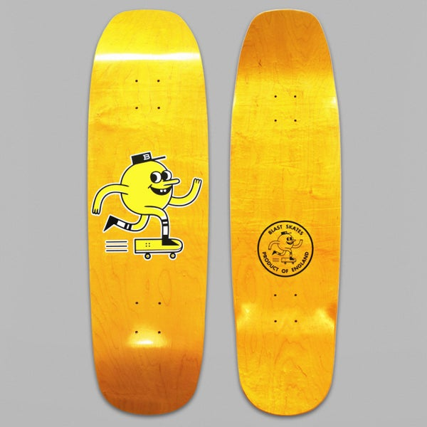 "Image of 9"" SHAPED LOGO DECK"