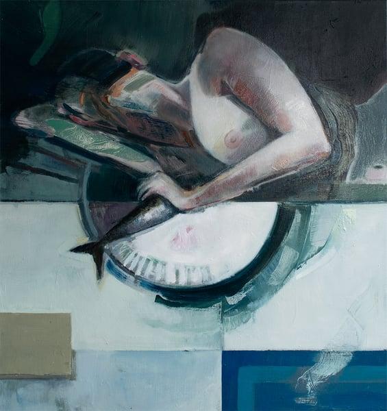 Image of Painting / maleri /   68x73 cm