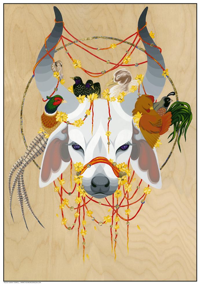 Image of Sacred Ox - Print