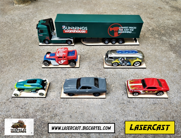 Image of Hotwheels & Matchbox bases