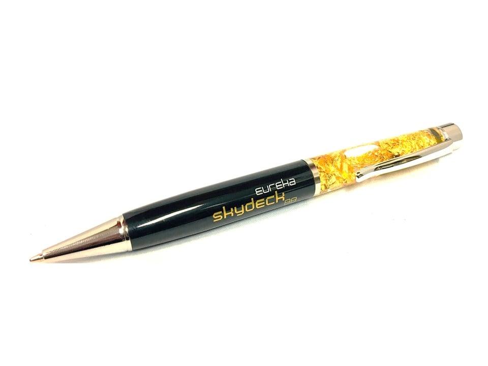 Image of Eureka Skydeck 24k Gold Leaf Pen inc. postage*