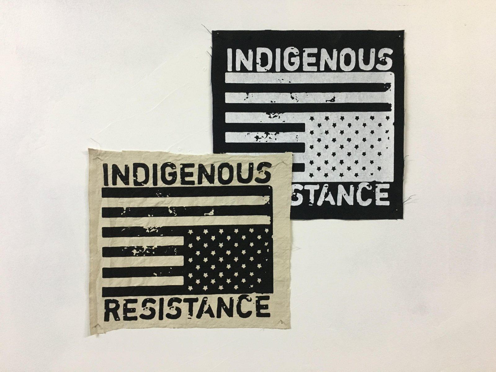 INDIGENOUS RESISTANCE BACK PATCH