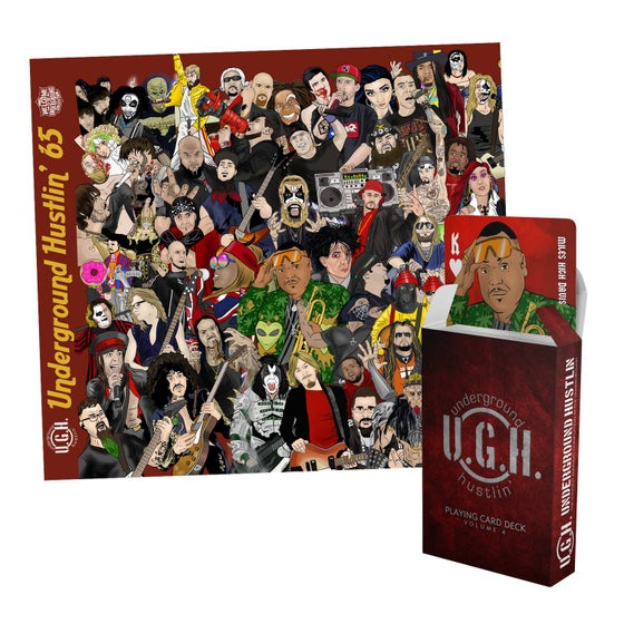 Image of UGH65 Hosted by LARS (DOUBLE DISC SET w/ POKER DECK)