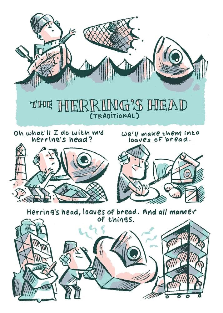 Image of The Herring's Head mini comic