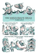 Image 2 of The Herring's Head mini comic
