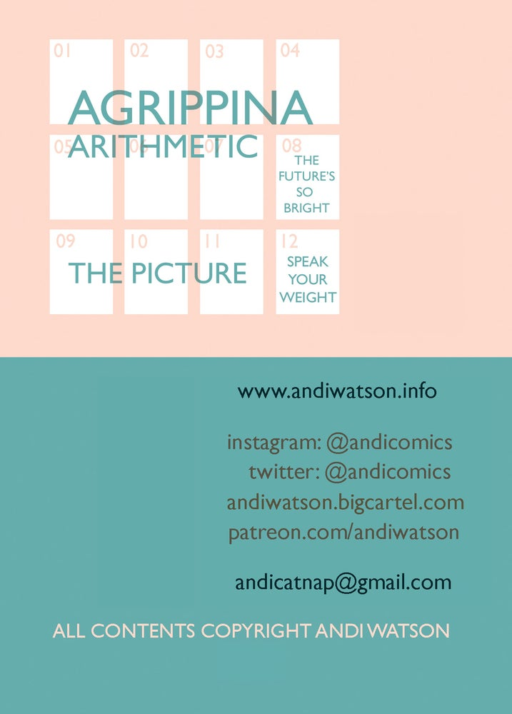 Image of Agrippina Arithmetic mini comic
