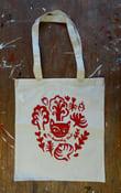 Image of 'En hemmelig klub' tote bag/mulepose