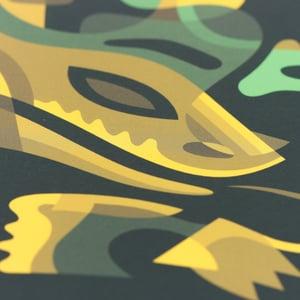 Image of Snake mask - 21x30cm