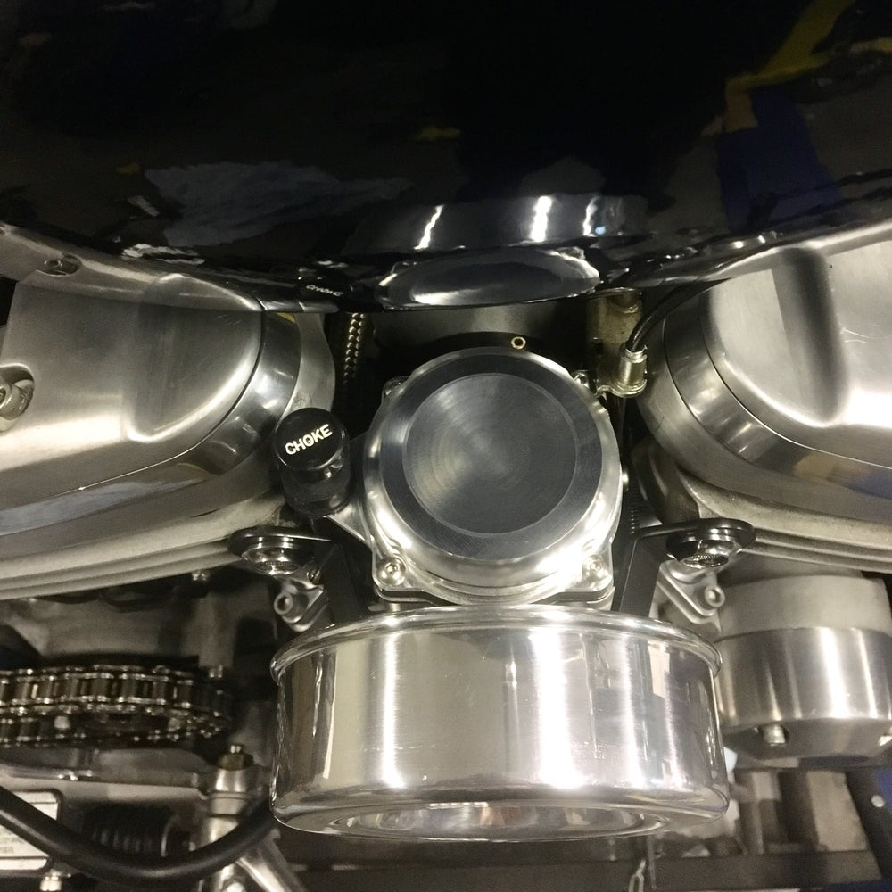 Image of CV Carb Top w/ Integrated Choke Mount