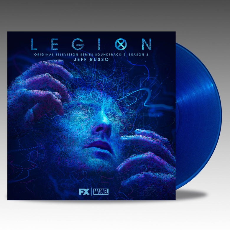 Image of Legion: Original Television Series - Season 2 'Transparent Blue' Vinyl - Jeff Russo