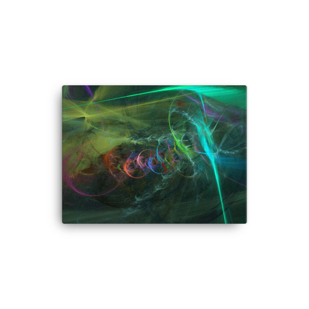 "Image of Fractal Art Canvas Print ""The Dance"""