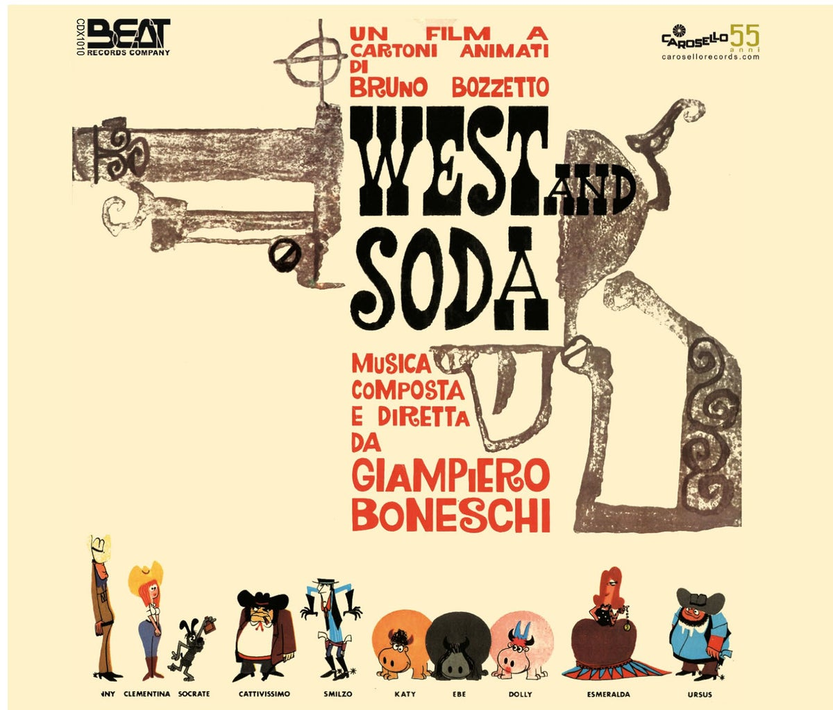 "Image of CD Audio ""West&Soda"""
