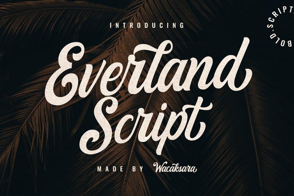 Image of Everland Script