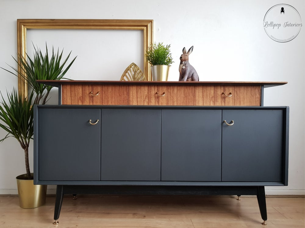 Image of G plan bi fold door sideboard