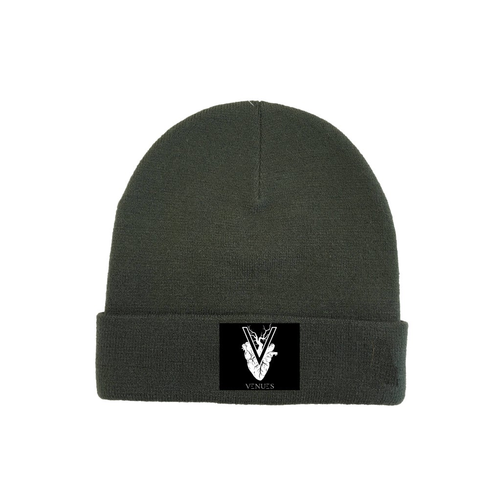 Image of Beanie Military Green