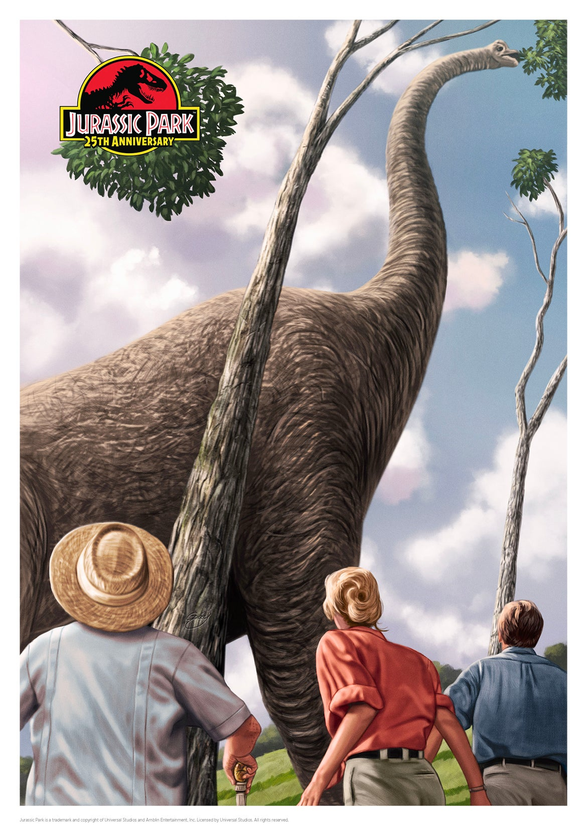 Image of Jurassic Park A3 (officially licensed artist proof copies)