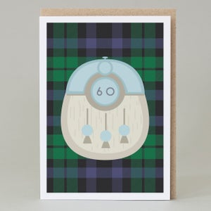 Image of 60th Birthday kilt card