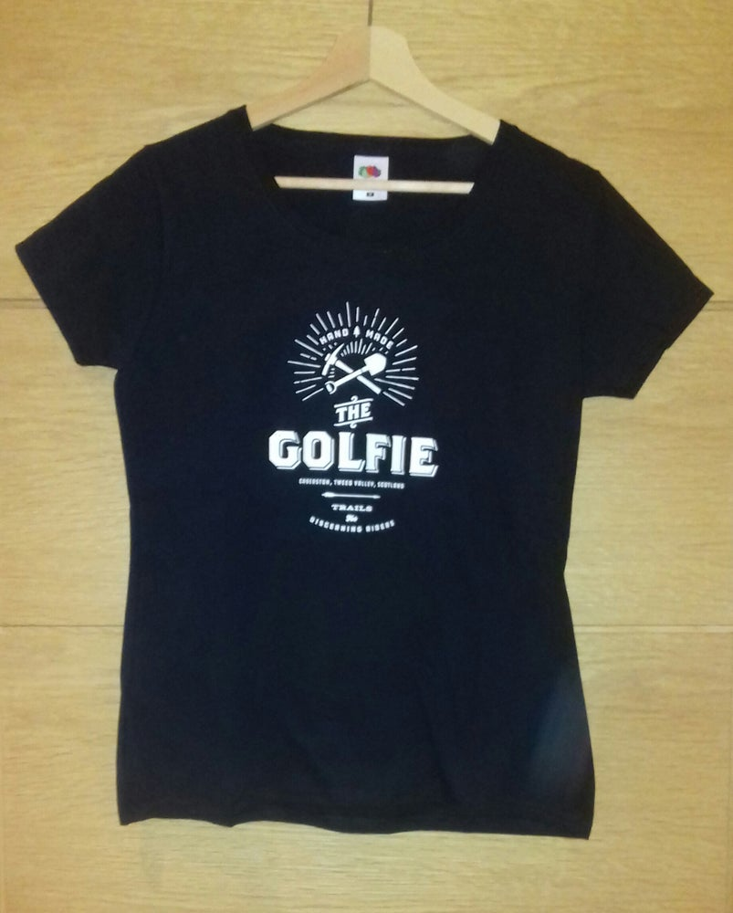 "Image of ""Golfie"" Mens/Womens T-Shirt"
