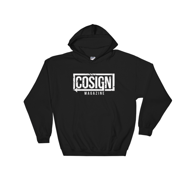 Image of Black - Classic COSIGN Logo Hoodie