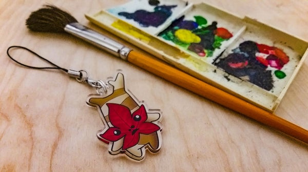 Image of Red Leaf Korok - Charm