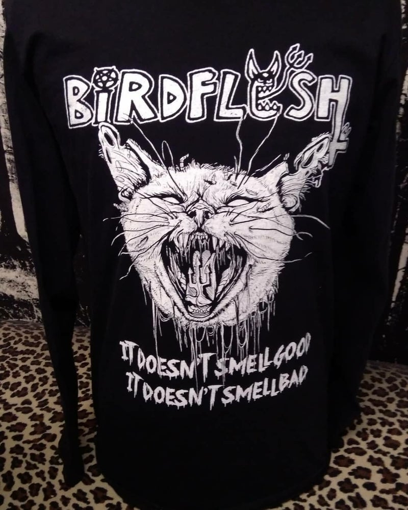 Image of LONGSLEEVE CATMOUTH 3 prints!