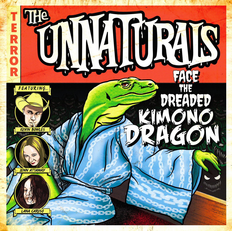 """Image of The Unnaturals """"Kimono Dragon"""" CD"""