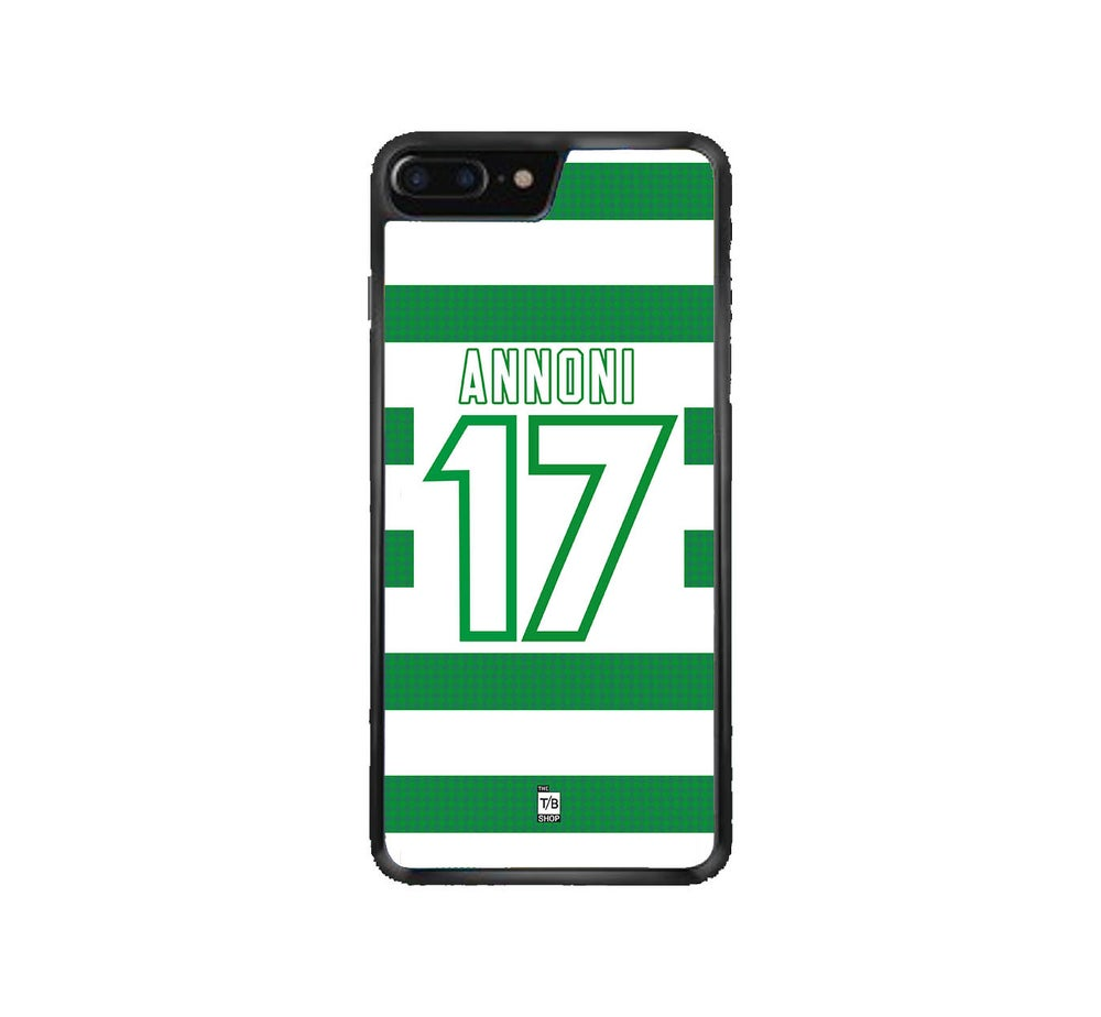 Image of Celtic 1997-98 home shirt phone case
