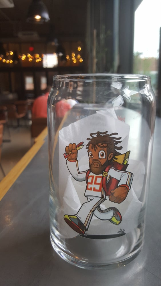 Image of Signed Eric Berry glassware (set of 2)
