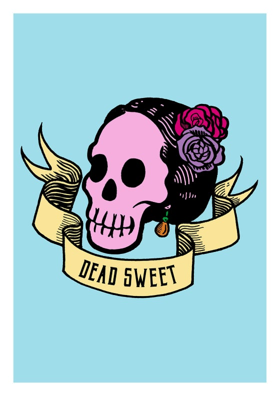 Image of Dead Sweet Art Print