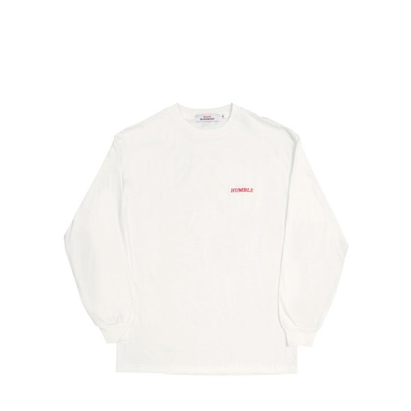 Image of humbleXhardbody embriodered Long Sleeve (white)