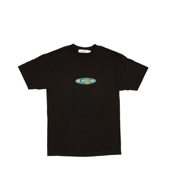 Image of humbleXhardbody oval logo tee (black)