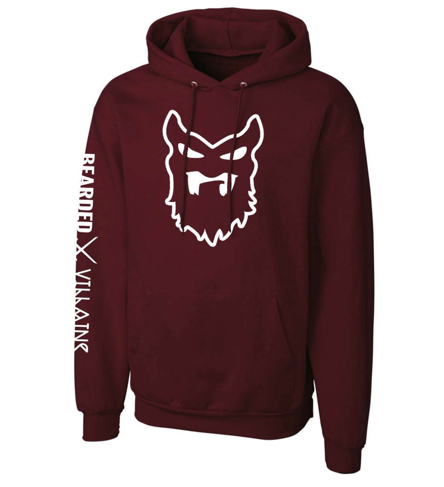 "Image of "" BORDEAUX "" Pull Over Hoodie"