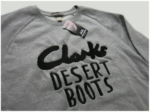 Image of 'CLARKS DESERT BOOTS' SWEATSHIRT
