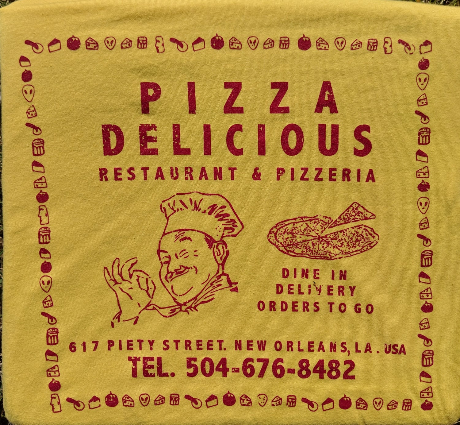 Image of Pizza Box T Shirt