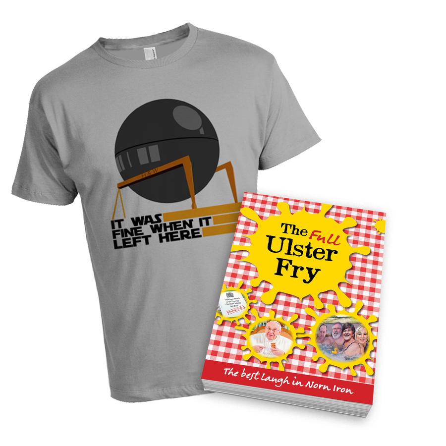 Image of Death Star Bundle - Signed Book & Tee
