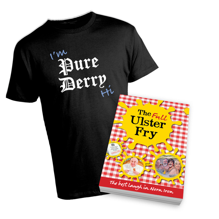 Image of Muckers Bundle - Signed Book and PD Tee