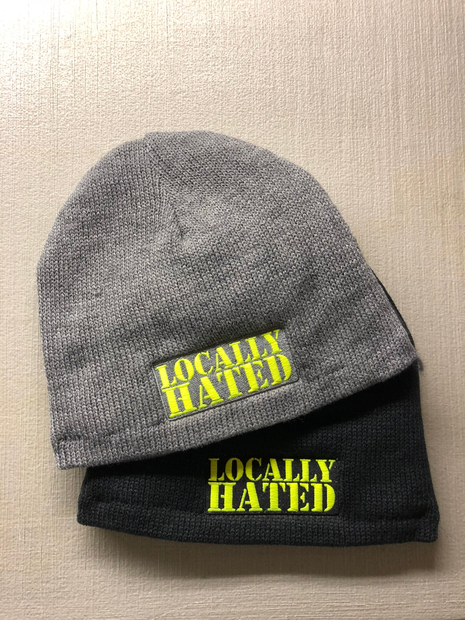 Image of Locally hated badge beanie