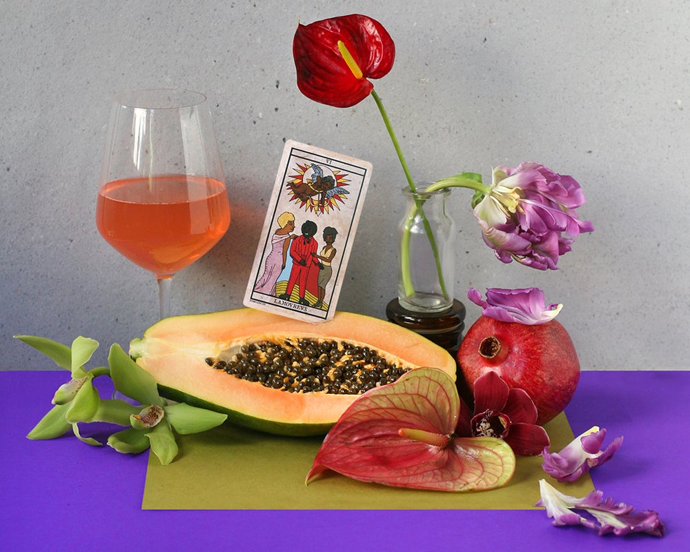 Image of Papaya Photo Print