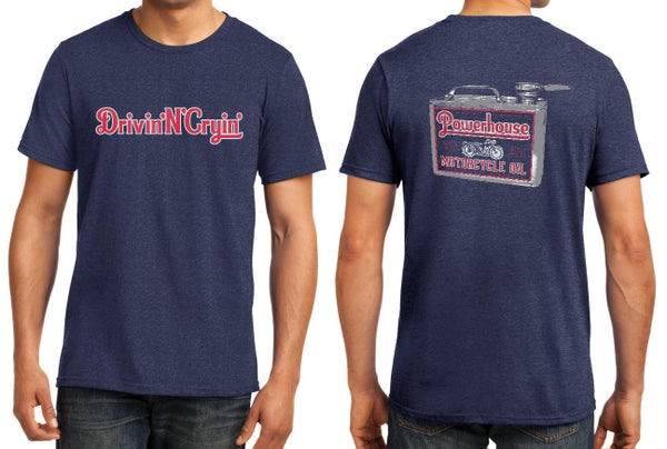 Image of Powerhouse motorcycle oil shirt